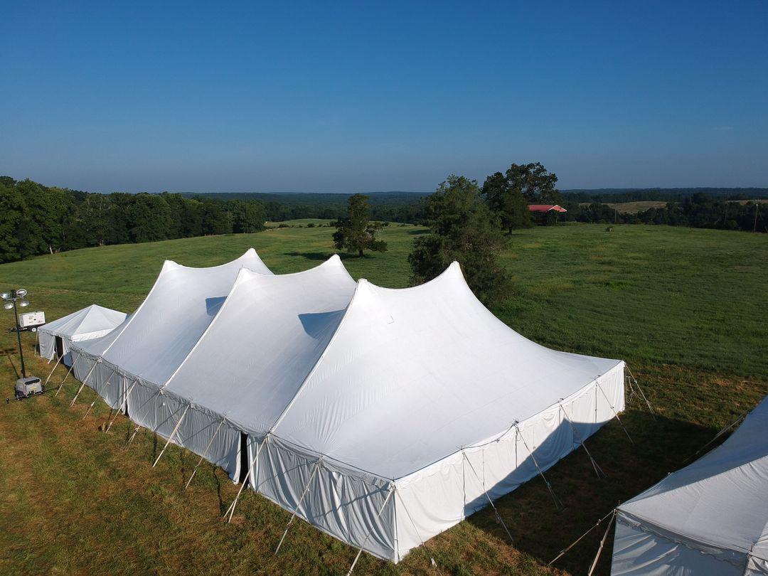 peak wedding tent