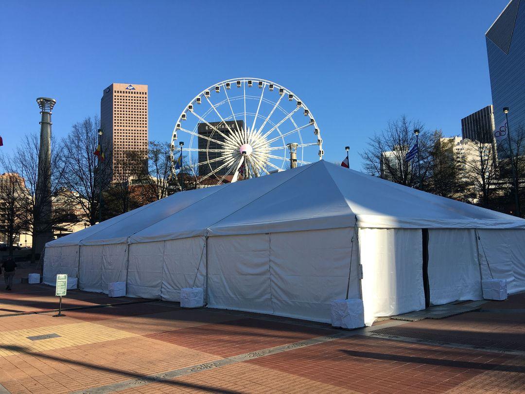 pole tent downtown atlanta