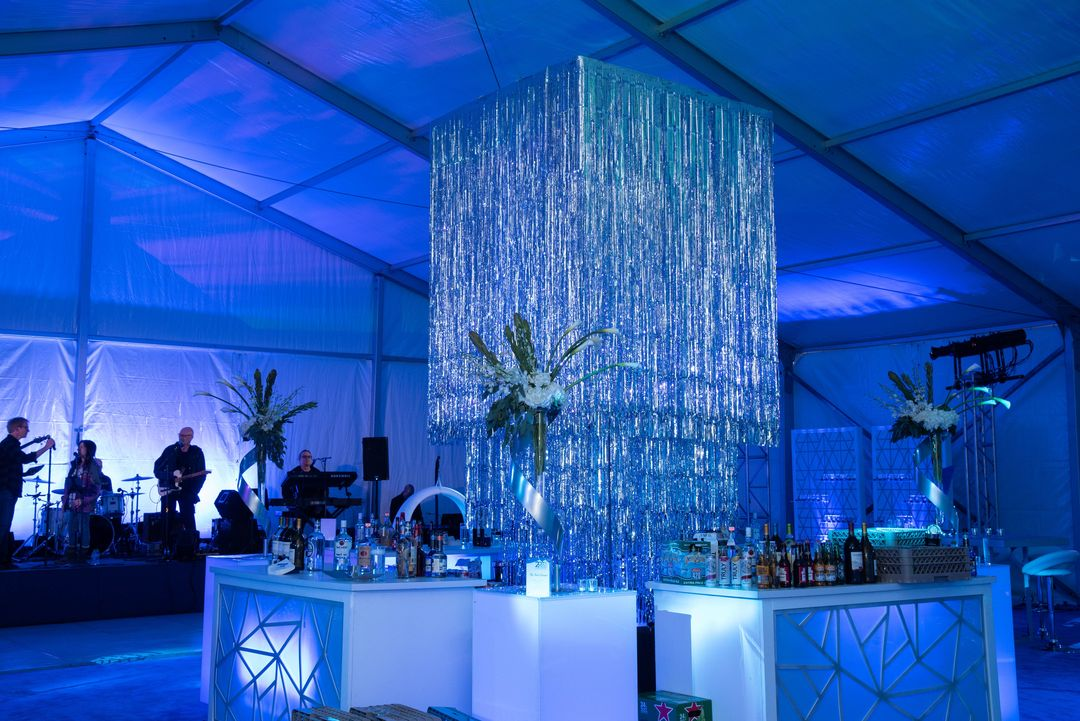 event bar area
