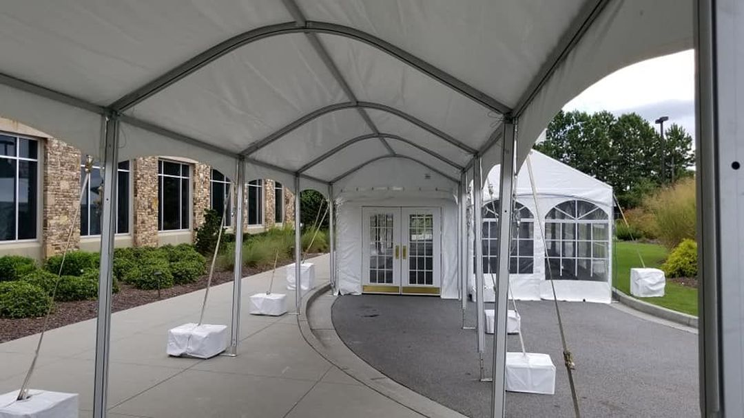 health screening tents