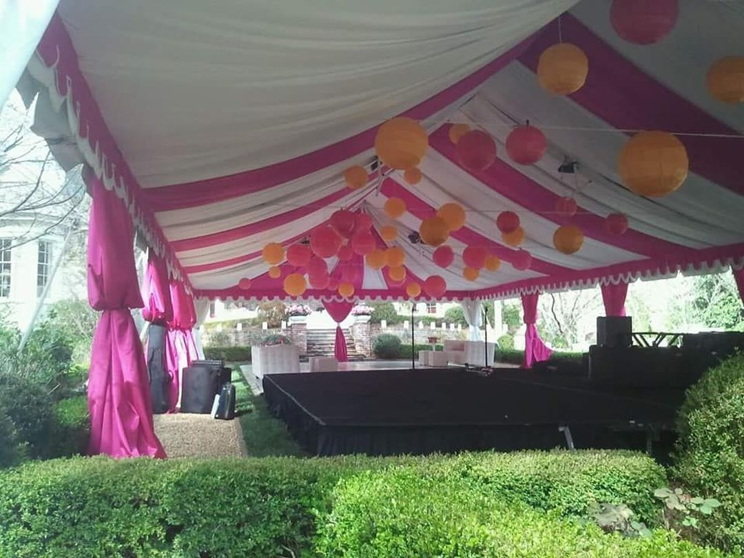 childrens party tent
