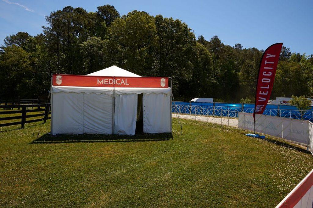 event medical tent
