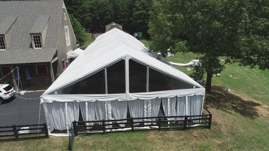 tent siding and accessories for rent