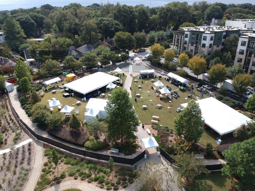 outdoor festival in atlanta