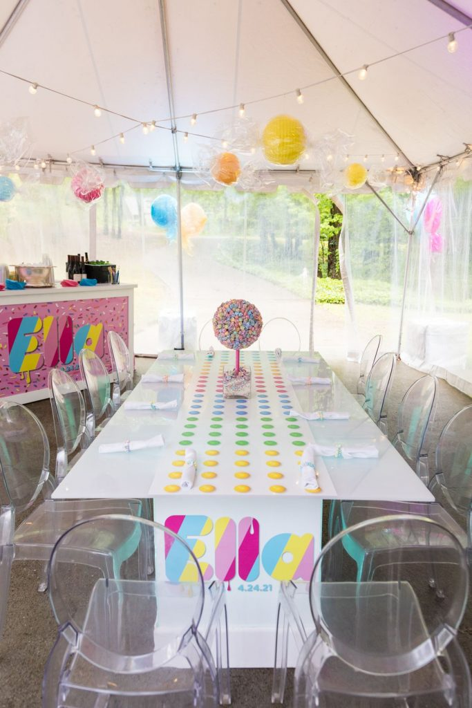 candy themed mitzvah