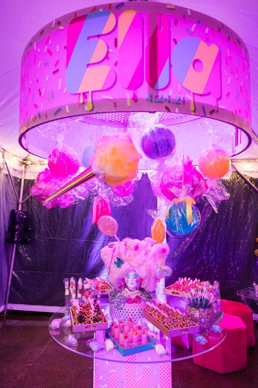 bubblegum inspired mitzvah