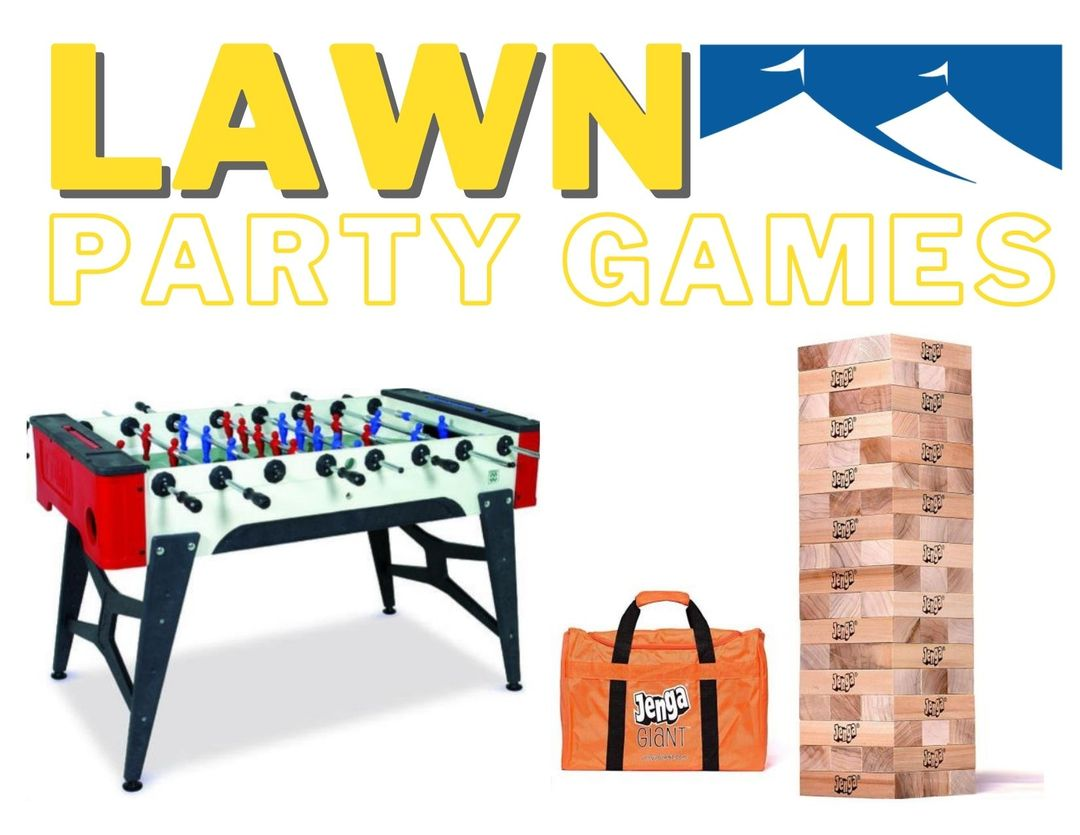 lawn party games for rent
