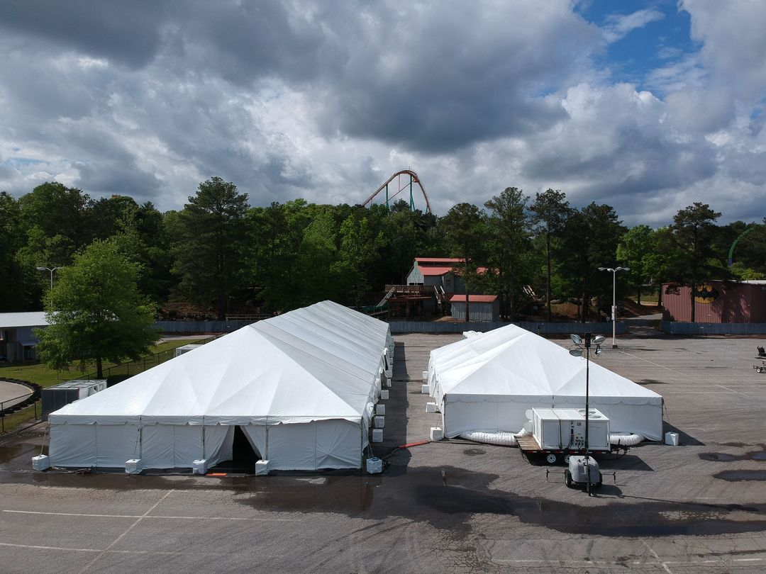 temporary tents for rent