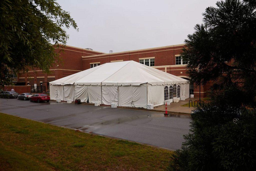 custom tent for school dance