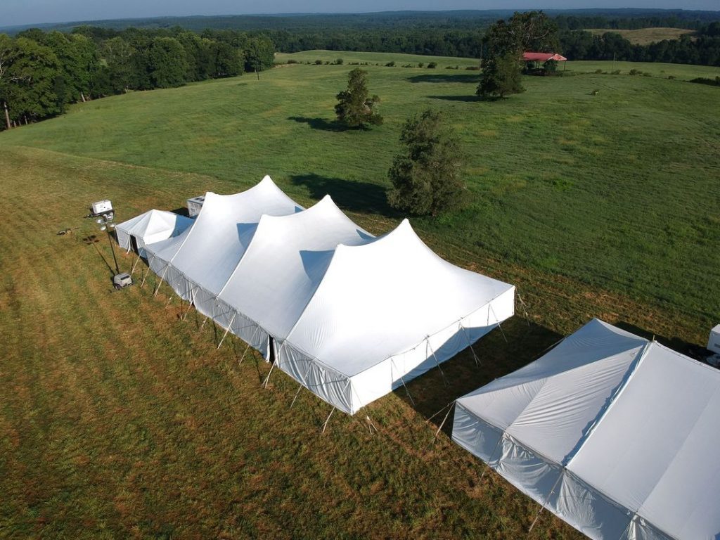 large canopy tent