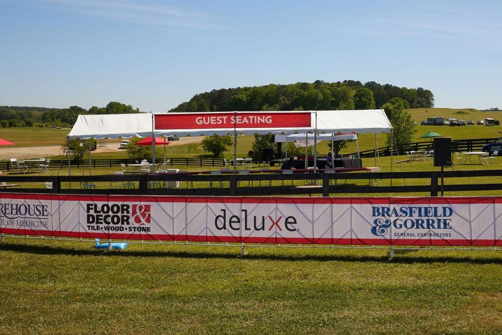 event food tent
